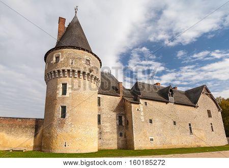 Castle Fougeres-sur-bievre, France