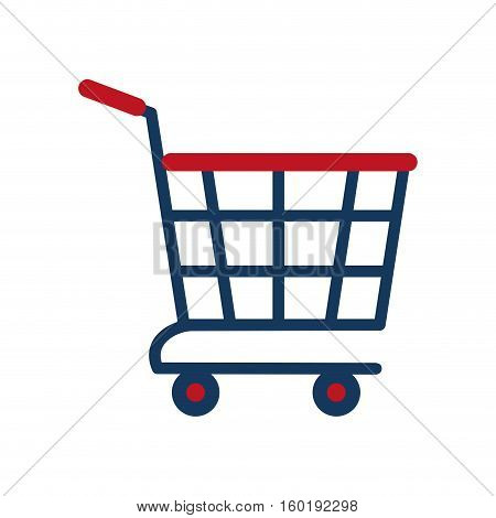 shopping cart online delivery market vector illustration eps 10