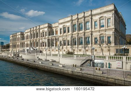 Ciragan Palace in Istanbul