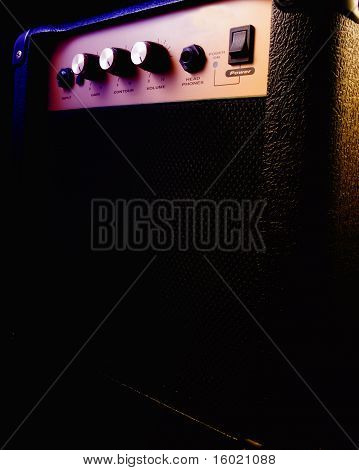 Stage Lit Amplifier