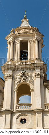Bell Tower Near The Forum In Rome