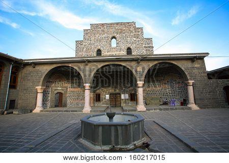 The Orthodox Syrian (Jacobite) church of the Virgin Mary (Meryem Ana Kilisesi)Diyarbakir,Turkey