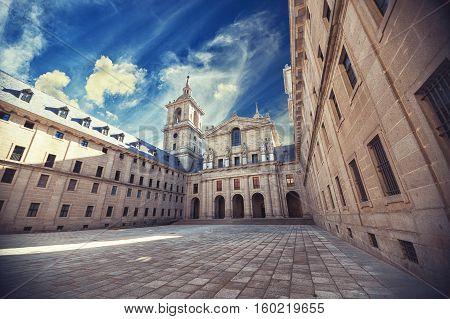 Royal Monastery of San Lorenzo de El Escorial Madrid Spain