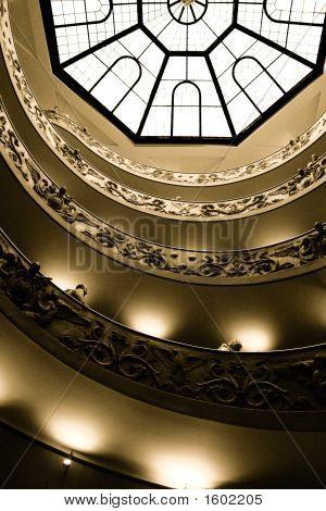 Musei Vaticani Stairs