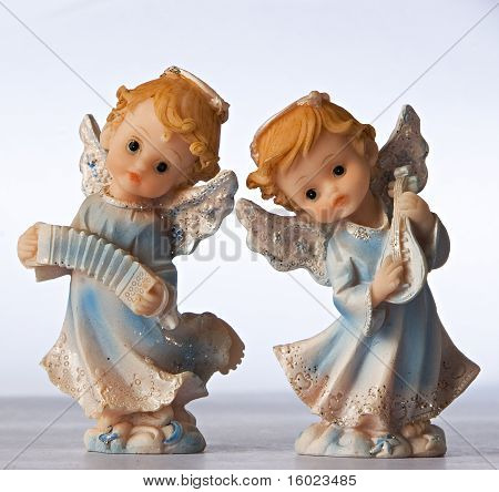 Blue Angel Figurines