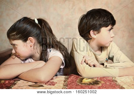 Siblings After Quarreling