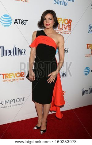 LOS ANGELES - DEC 4:  Lana Parrilla at the TrevorLIVE Los Angeles 2016 at Beverly Hilton Hotel on December 4, 2016 in Beverly Hills, CA