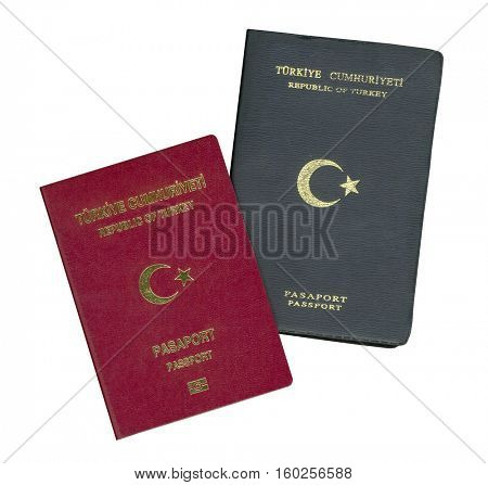 New and Old Passport ( Republic of Turkey in Turkish, )