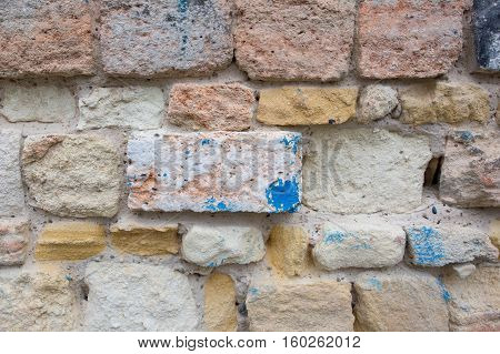 Old Wall Antic In Europe For Wallpaper