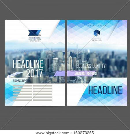 Vector template design annual report 2017, brochure, web sites, page, leaflet cover presentation, abstract design, layout with colorful picture, logo and text separately for you.
