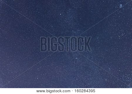 Milkyway Cosmos Background.constellations Auriga, Taurus, Lynx, Gemini, Orion