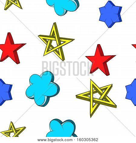 Kind of star pattern. Cartoon illustration of kind of star vector pattern for web