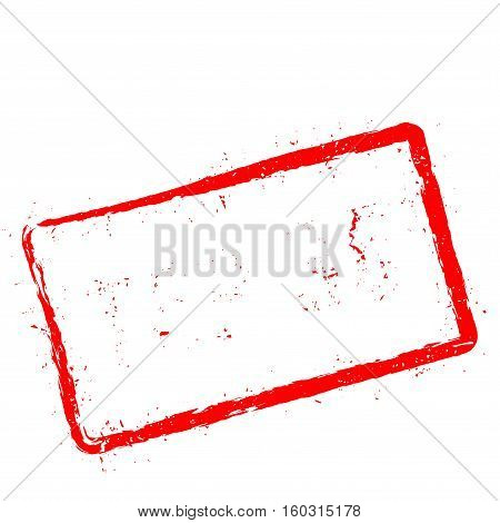 Top 35 Red Rubber Stamp Isolated On White Background. Grunge Rectangular Seal With Text, Ink Texture