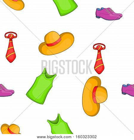 Material pattern. Cartoon illustration of material vector pattern for web