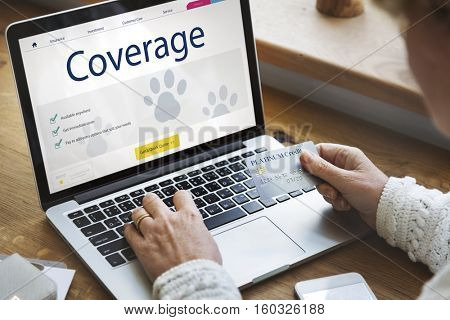 Pet Insurance Protection Compensation Concept