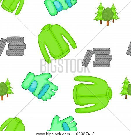 Competition paintball pattern. Cartoon illustration of competition paintball vector pattern for web