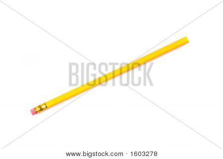 Yellow Pencil With Eraser