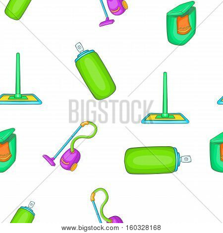 Cleansing pattern. Cartoon illustration of cleansing vector pattern for web