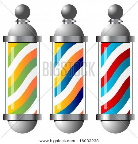 Barbers Pole Set