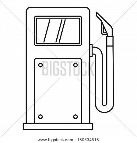 Gas station icon. Outline illustration of vector icon for webicon. Outline illustration of gas station vector icon for web
