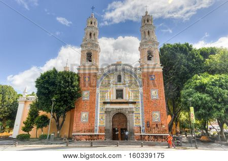 The Sanctuary Of Our Lady Of Guadalupe - Puebla, Mexico
