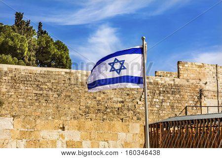 Israeli Flag Western