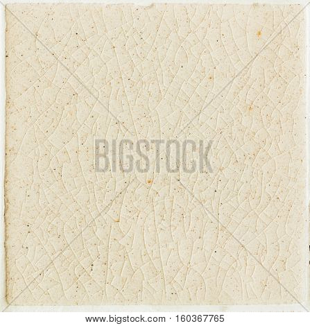 close up background and texture of stretch marks cracked on white cream tile