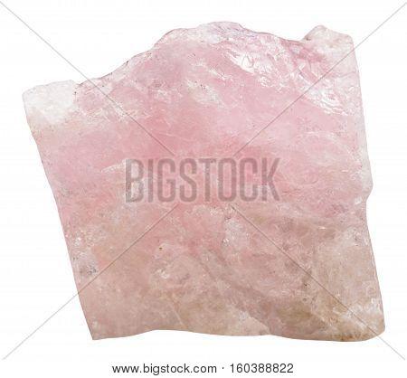 Crystal Of Pink Beryl (morganite) Gem Stone