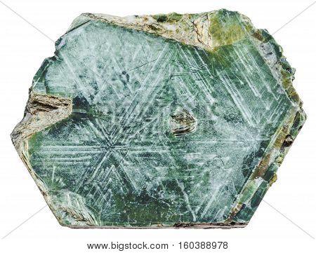 Phlogopite (magnesium Mica) Rock Isolated