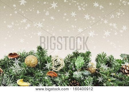 a christmas background for advertising