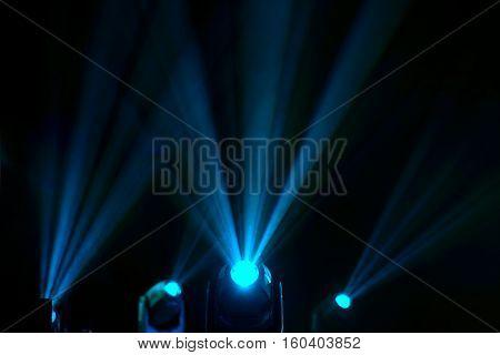 floodlights to illuminate glow in the dark