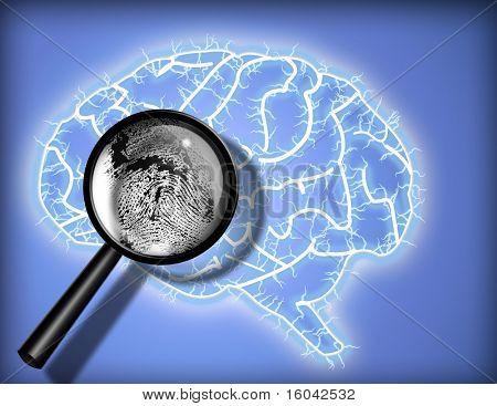 Brain Fingerprint - Identity - Psychoanalysis
