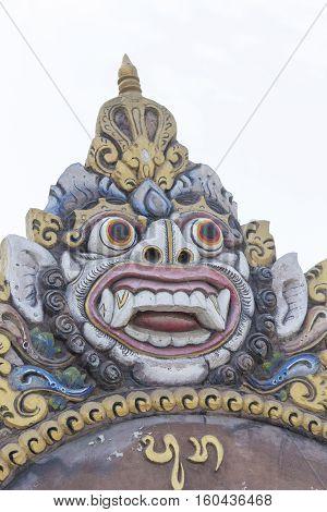Balinese Statue Close Up