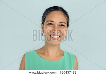 Women Adult Smile Latin American Concept