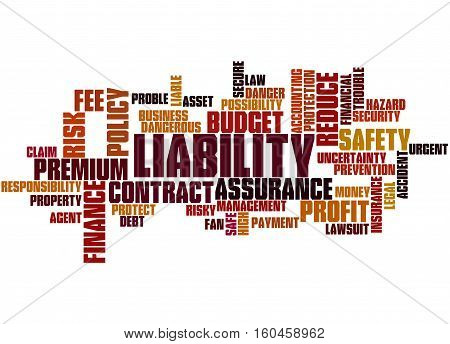 Liability, Word Cloud Concept