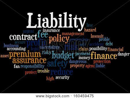 Liability, Word Cloud Concept 6