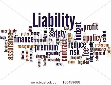 Liability, Word Cloud Concept 8