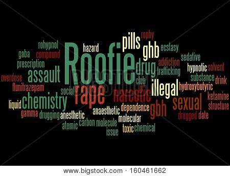 Roofie, Word Cloud Concept 4