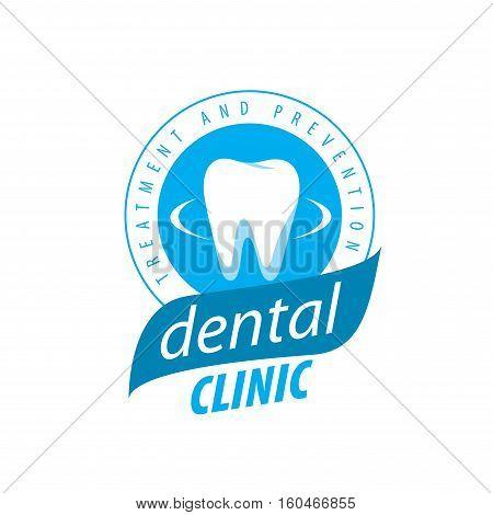 logo design template for dental clinic. Vector illustration