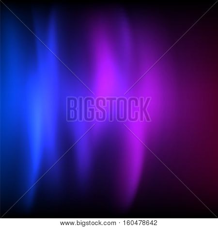Purple background advertising brochure design elements. Blurry light glowing graphic form for elegant flyer. Vector illustration EPS 10 for booklet layout wellness leaflet newsletters