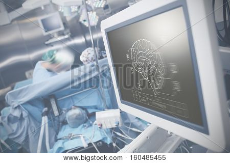 Modern advanced technologies in the service of medical science.