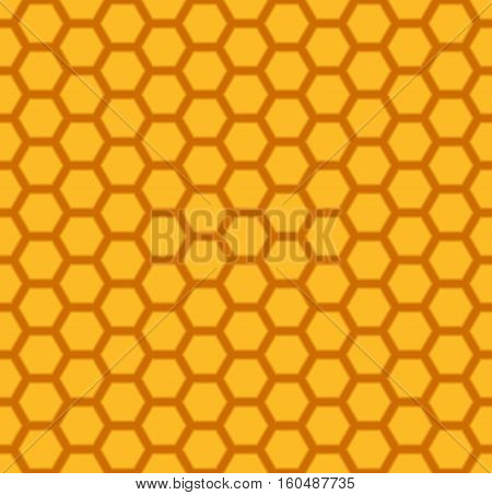 honeycomb seamless pattern or background - vector illustration