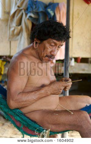 Amazonian Indian Man