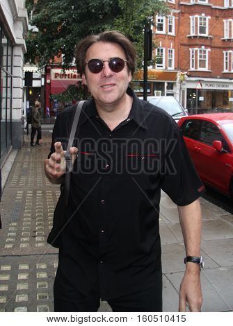 LONDON,  UK, AUG 26, 2014: Jonathan Ross arrives at the BBC Radio 2 Studios in London UK.