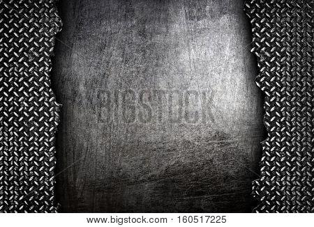 cracked diamond metal background