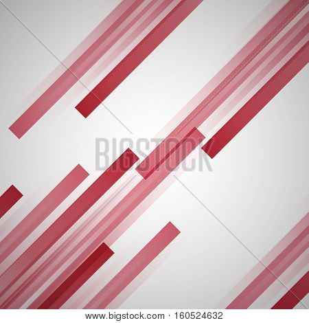 Abstract background with red straight lines, stock vector