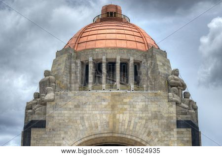 Monument To The Mexican Revolution