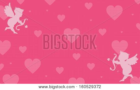 vector background love greeting card collection stock