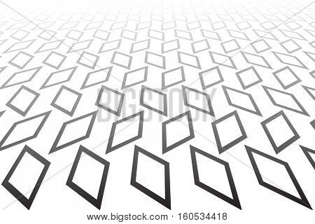 Abstract geometric background. Vector art.