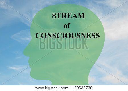 Stream Of Consciousness Concept